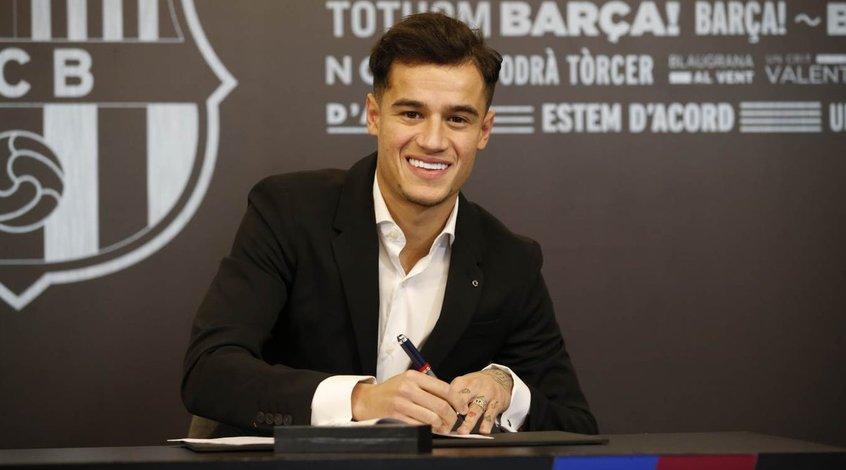 """""""Барселона"""" готова продать Филиппе Коутиньо за 100 миллионов евро"""