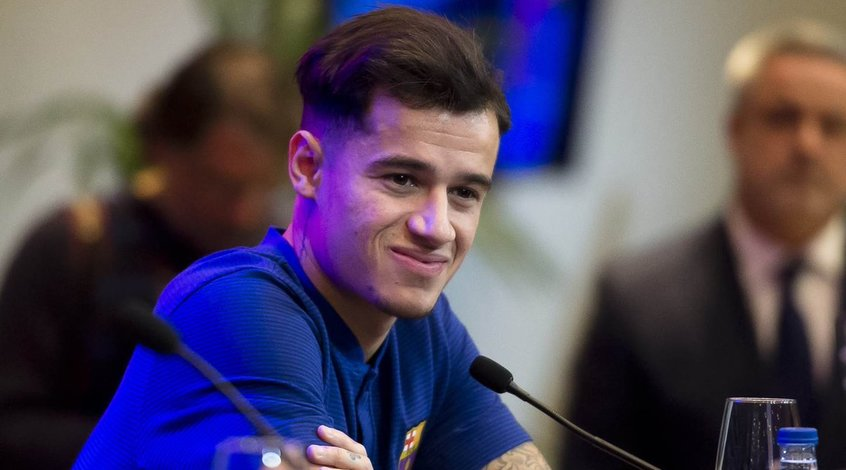 """Ведущий полузащитник """"Барселоны"""" Филиппе Коутиньо пропустит около трех недель"""