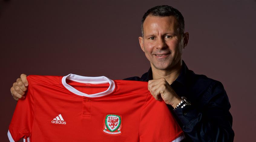 Райан Гиггз— главный тренер сборной Уэльса