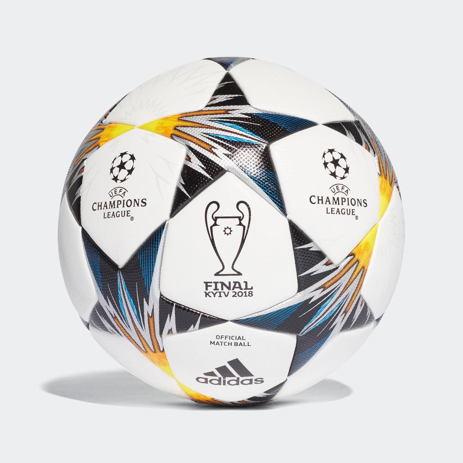 Представлен официальный мяч финала Лиги чемпионов в Киеве (+Фото) - изображение 1