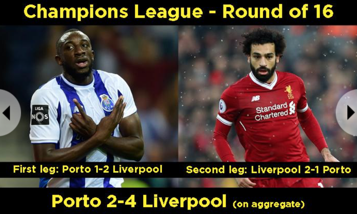 Лига Чемпионов. Прогноз на матч Порту — Ливерпуль