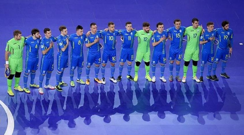 Футзал. Первый товарищеский матч. Украина - Хорватия 1:1 (Видео)