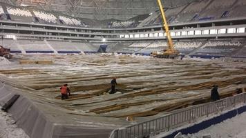На стадионе ЧМ-2018 в Самаре рухнул парник (+Видео)