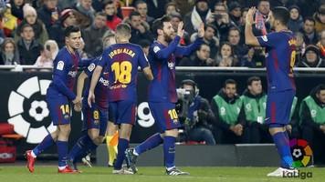 """Валенсия"" - ""Барселона"" 0:2. Шаг к золотому дублю"
