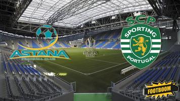"""Лига Европы. """"Астана"""" - """"Спортинг"""" 1:3 (Видео)"""