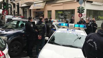 Украинских болельщиков арестовали в Афинах