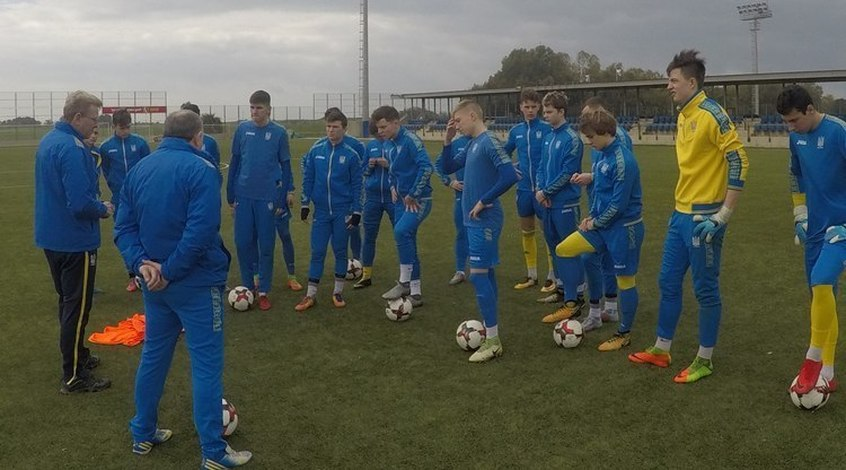Сборная Украины (U-19) одолела  сербов воборе кЕвро