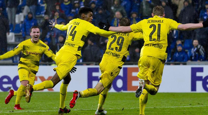 Боруссия дортмунд в лиге европы