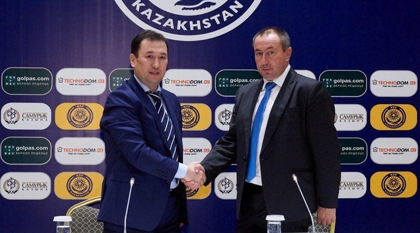 Основным тренером сборной Казахстана пофутболу стал Станимир Стойлов