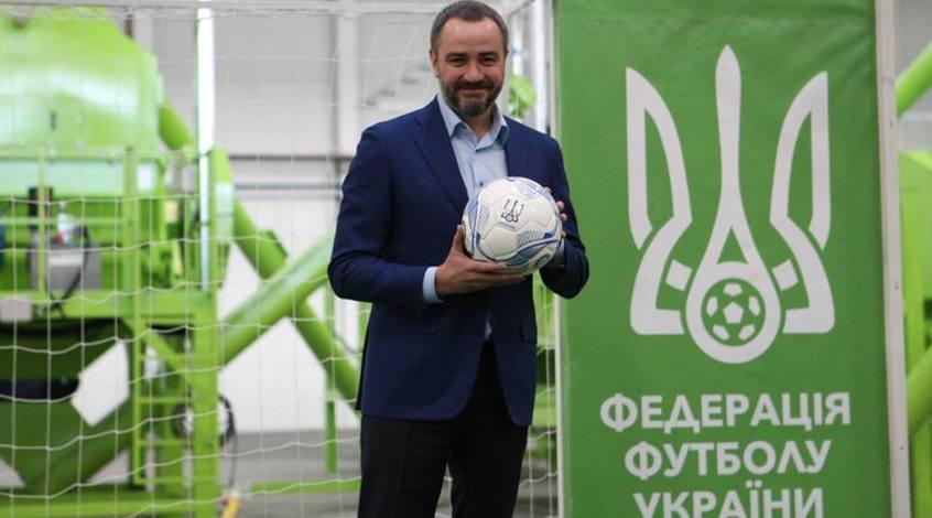 """Андрей Павелко: """"Этот результат - прекрасный показатель, что наш футбол и наша страна находятся на правильном пути!"""""""