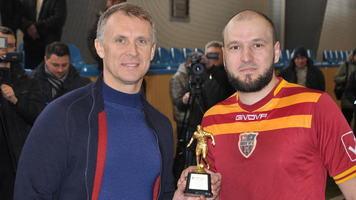 Сергій Зелді - найкращий гравець Меморіалу Щанова