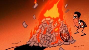 Футбол в карикатурах: инопланетные делишки, финансовый пожар и битва трансформеров (Фото)