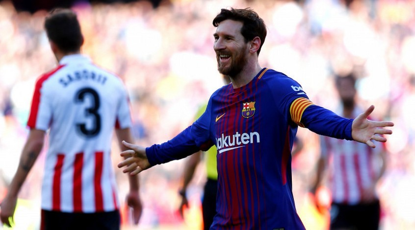 Барселона намерена продлить с Месси контракт до 2023 года
