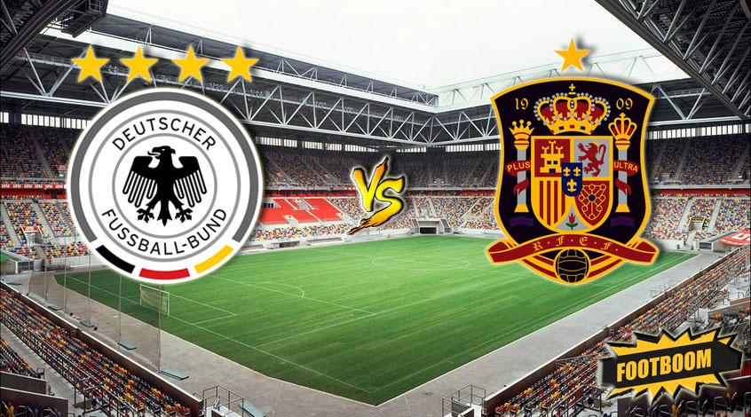 Германия - Испания. Анонс и прогноз матча
