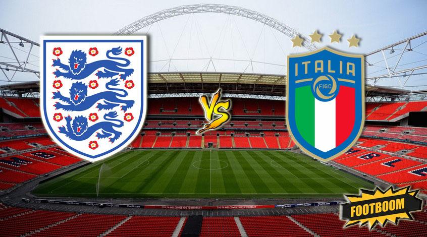 Футбол англия италия
