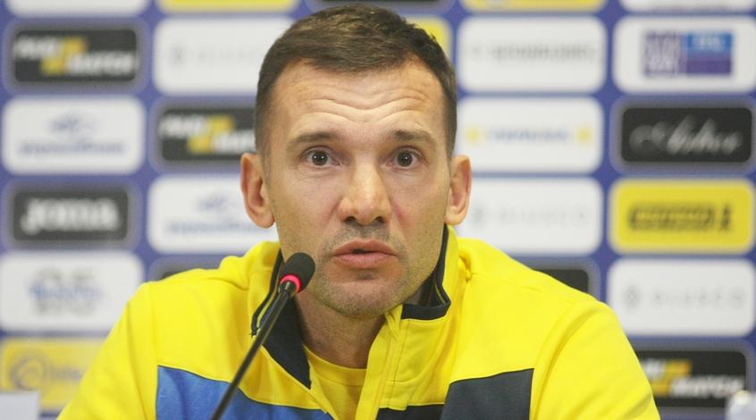 Україна - Чехія: передматчева прес-конференція Андрія Шевченка