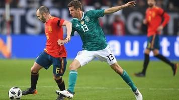 Германия - Испания 1:1. Это была славная битва