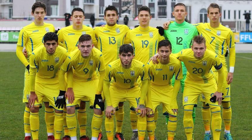 Юниорская сборная Украины из-за технического поражения непробилась наЧЕ
