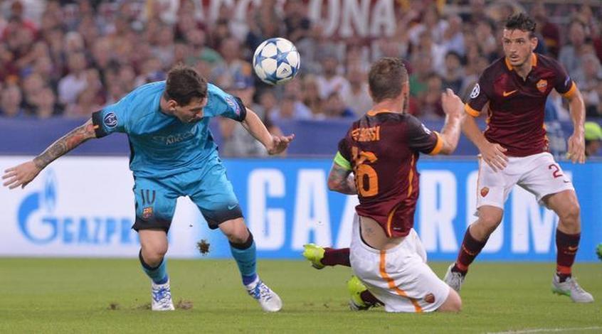 """""""Барселона"""" - """"Рома"""": коэффициент 2,15 на то что Месси не забьёт"""