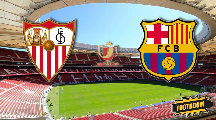 'Севилья-'Барселона: ставим на обмен голами в финале Кубка Испании