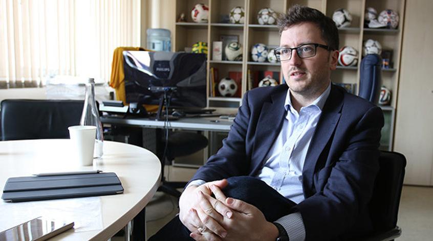 """Маркиян Ключковский: """"Бесплатное телевидение покрывает не более 25-30% расходов на покупку прав УПЛ"""""""