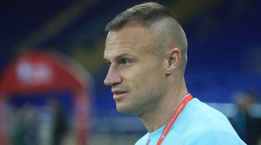 """Вячеслав Шевчук: """"С Голландией будет сложно, но я уверен, что сборная Украины пройдет дальше"""""""