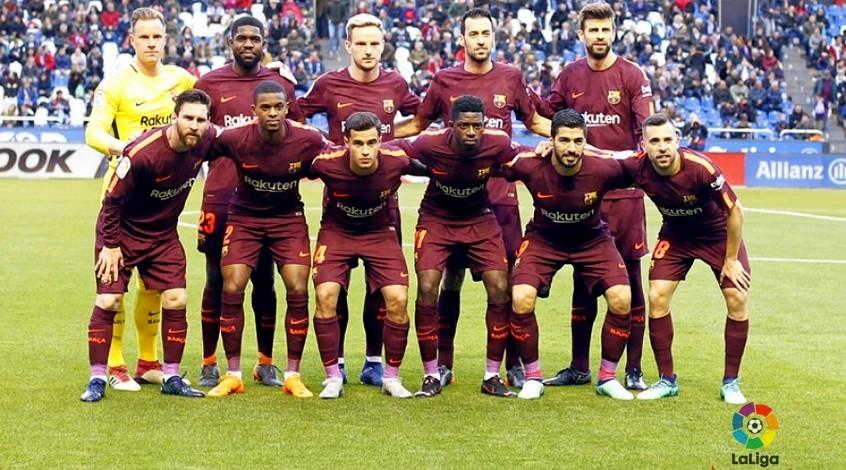 Футбол испани барселона