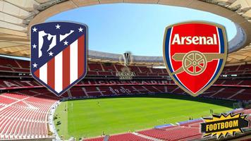 """Лига Европы. """"Атлетико"""" - """"Арсенал"""" 1:0 (Видео)"""