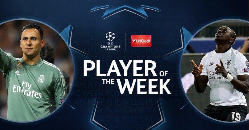 УЕФА: Кейлор Навас и Садио Мане - претенденты на звание игрока недели Лиги чемпионов - изображение 1