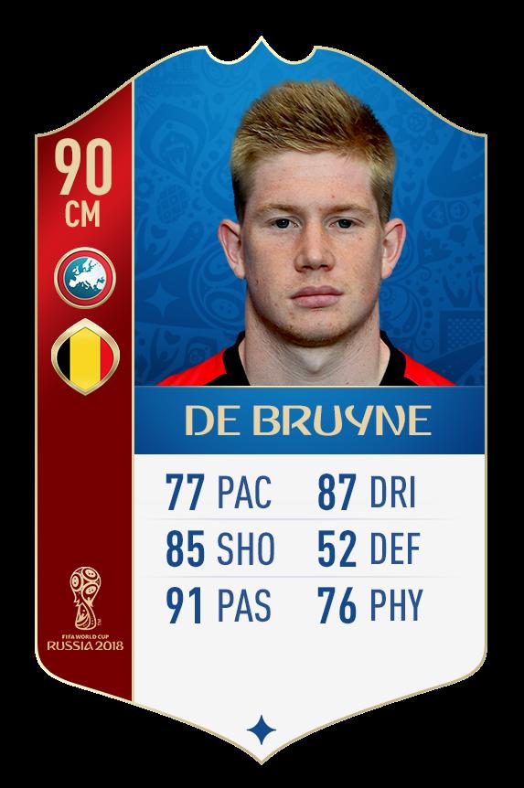 FIFA 18 World Cup: сборная Бельгии (+Фото) - изображение 1