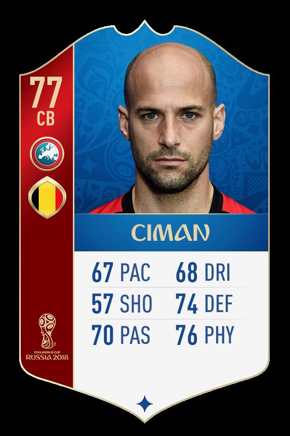 FIFA 18 World Cup: сборная Бельгии (+Фото) - изображение 27