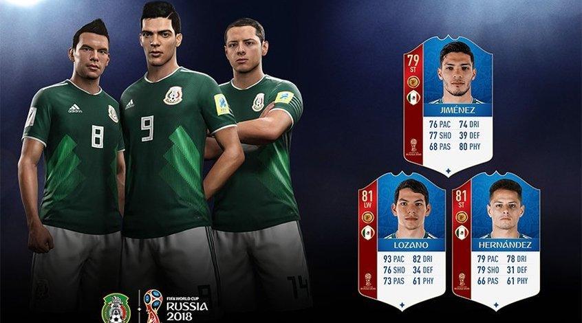 FIFA 18 World Cup: сборная Мексики (+Фото)