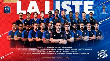 Уругвай - Франция: букмекеры назвали самый вероятный счёт матча