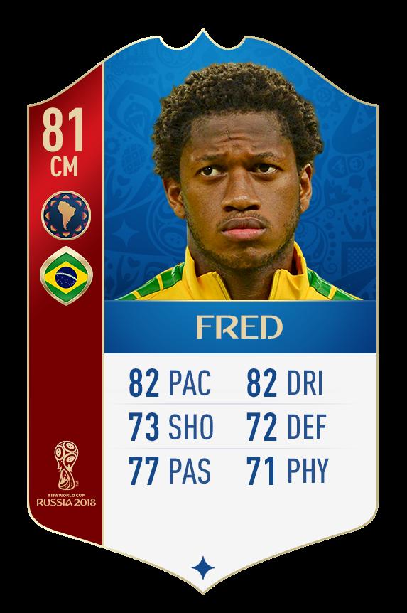 ЧМ: Тайсон и Фред получили специальные карточки в FIFA 18 - изображение 2