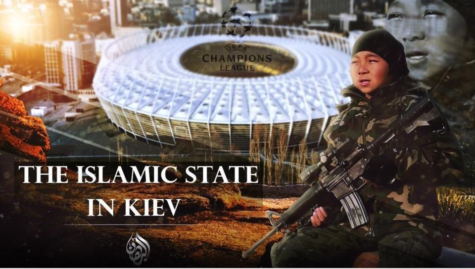 ИГИЛ угрожает устроить атаки с применением оружия в Киеве во время финала Лиги чемпионов - изображение 1
