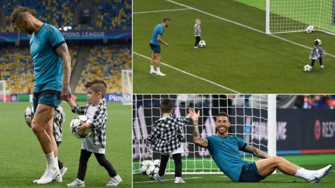 Лига чемпионов в Киеве, второй день: матч легенд, извинения Роналду и шутка от Клоппа (+Фото, Видео) - изображение 13