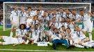 """Церемония награждения победителя Лиги чемпионов, или как """"Реал"""" получал свои третьи кряду медали (Видео)"""
