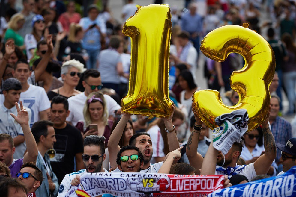 """Мгновения чемпионского парада """"Реала"""" в Мадриде (Фото, Видео) - изображение 5"""