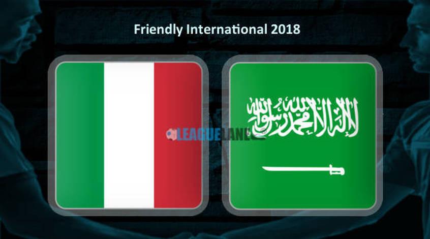 Италия - Саудовская Аравия: прогноз The League Lane