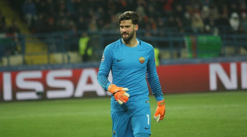 """""""Рома"""" хочет получить 90 миллионов евро от """"Ливерпуля"""" за Алиссона"""