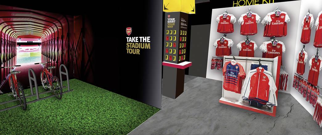 """""""Арсенал"""" откроет в Китае бар с голограммами футболистов клуба (Фото) - изображение 2"""