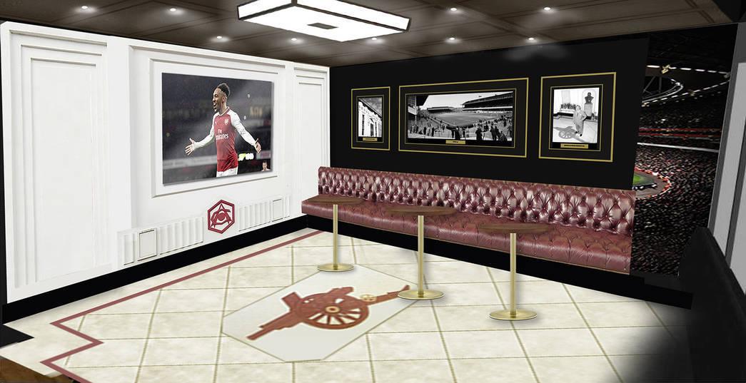 """""""Арсенал"""" откроет в Китае бар с голограммами футболистов клуба (Фото) - изображение 4"""