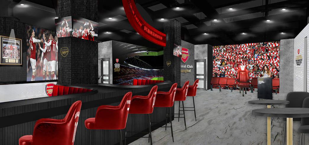 """""""Арсенал"""" откроет в Китае бар с голограммами футболистов клуба (Фото) - изображение 5"""