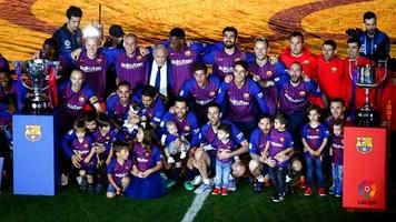Чемпионат Испании. Итоги сезона 2017-2018