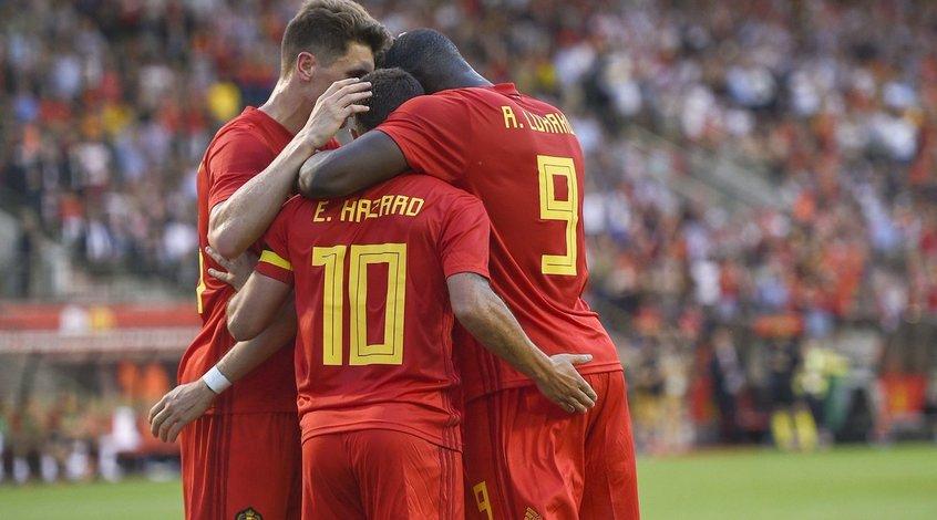 Товарищеские матчи. Бельгия - Египет 3:0. Одностороннее движение
