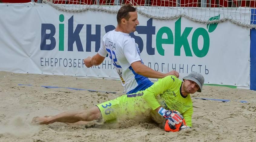 Расписание матчей 11 и 12 туров чемпионата Киева по пляжному футболу