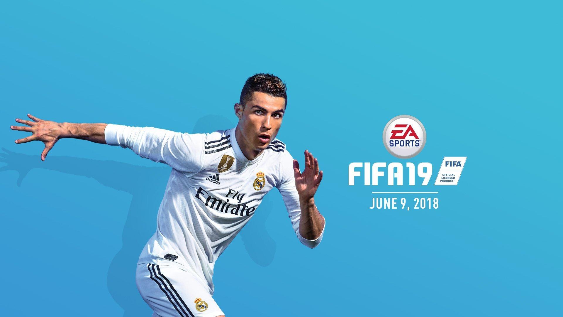Криштиану Роналду будет на обложке FIFA 19 - изображение 1