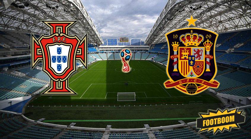 Испания - Португалия: стартовые составы