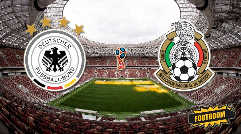 Германия - Мексика. Анонс и прогноз матча