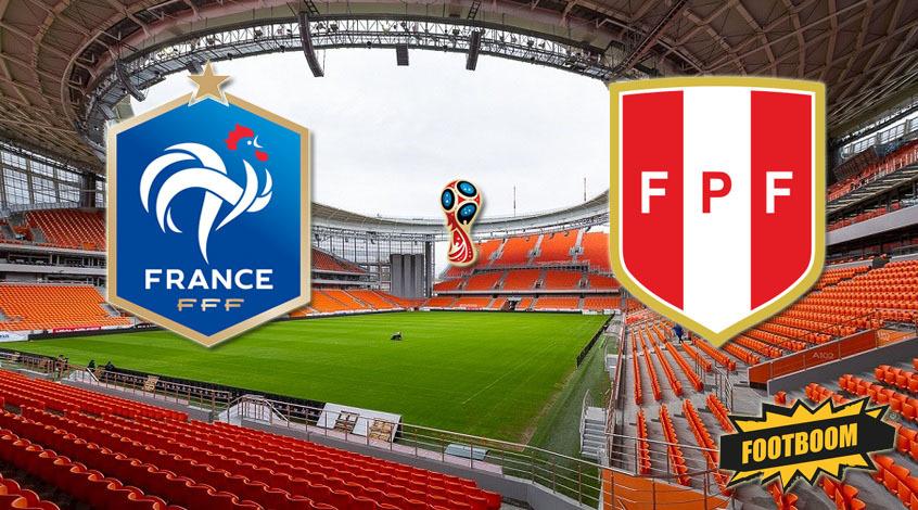 Франция - Перу: стартовые составы